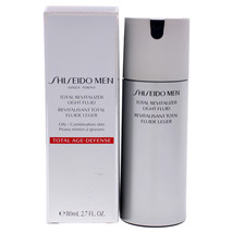 Total Revitalizer Light Fluid by Shiseido for Men - 2.7 oz Serum - $55.99