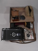 Polaroid 110A Land Camera w/127mm f4.7 Ysarex L... - $111.84