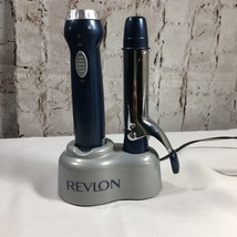 """Revlon Appliances RV047 Cordless Travel 1"""" Barrel Curling Iron with Charger Base - $28.17"""