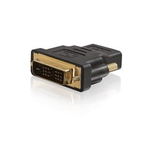 C2G 40746 Velocity DVI-D Male to HDMI Female Inline Adapter, Black - $22.99