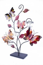 Butterflies and Leaves Votive Holder - $136.22