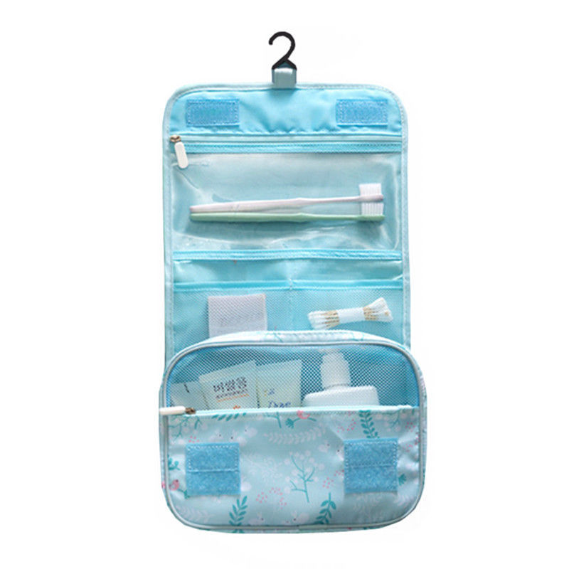 Portable Travel Hanging Cosmetic Bag Toiletry Organizer Makeup Storage Wash Case