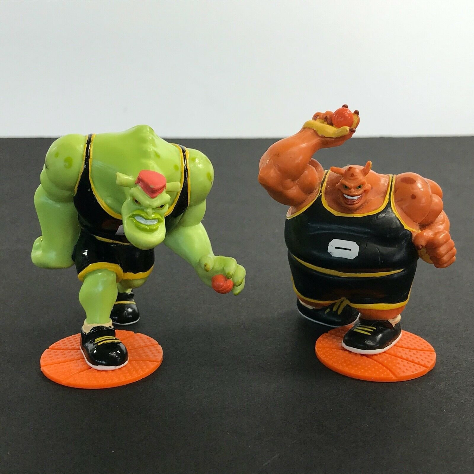 Primary image for Lot of 2 Vintage Space Jam Applause PVC Action Figures 1996 Bupkus & Bang