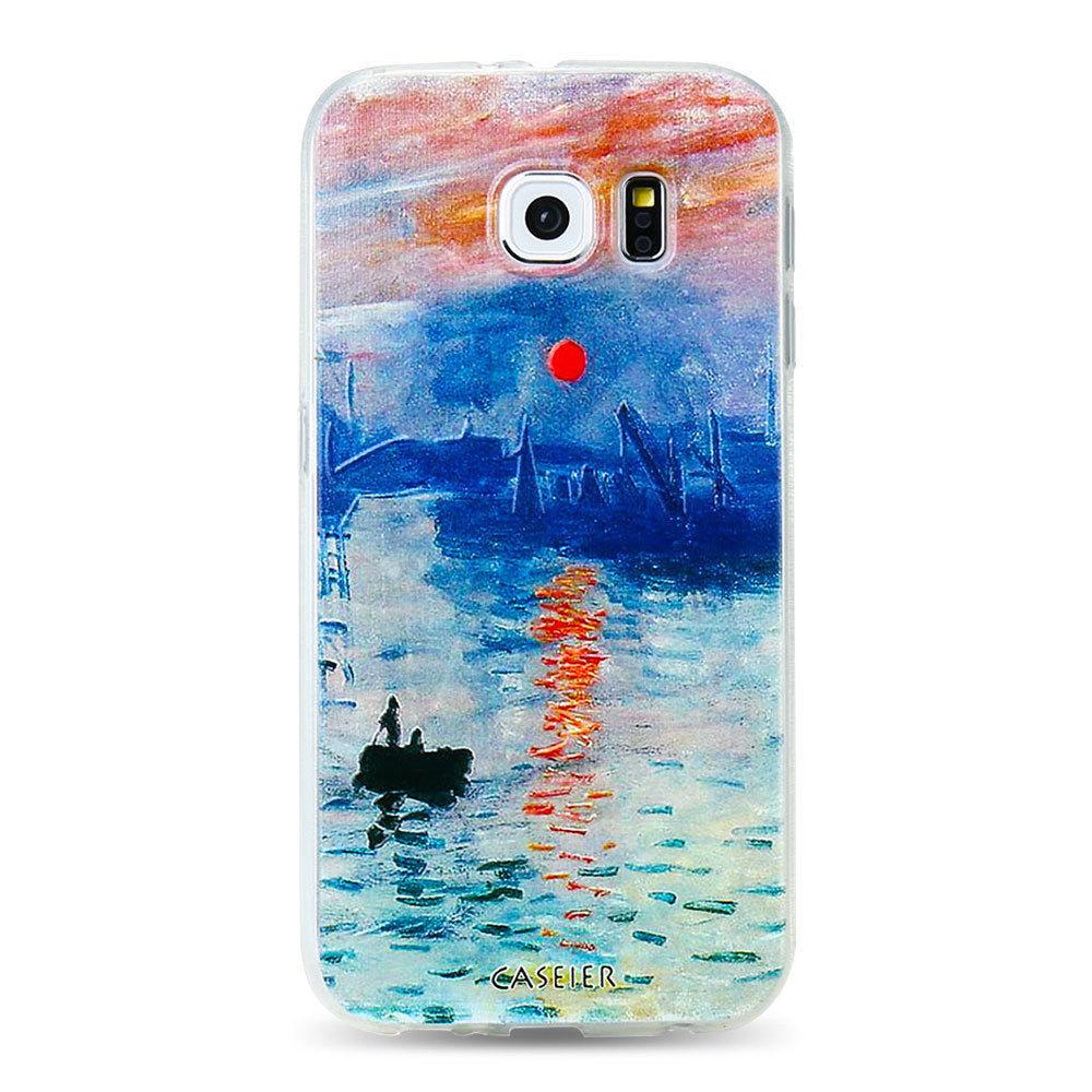 CASEIER® Monet's Painting Phone Case Samsung S6 S7 Edge S8 Plus Note8