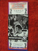 NY Rangers 1996 Stanley Cup Playoffs Semifinals 2nd Round Game 2 Ticket ... - $8.90