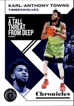 Karl-Anthony Towns 2019-20 Panini Chronicles Card #17 - $0.99