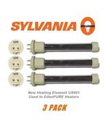 Original Sylvania 500W Edenpure USA1000 GEN 4 Heater Element Bulbs 3 Pac... - $69.99