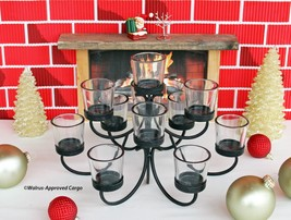 POTTERY BARN IRON VOTIVE CANDELABRA CENTERPIECE – LIGHTEN UP YOUR MEAL T... - $74.95