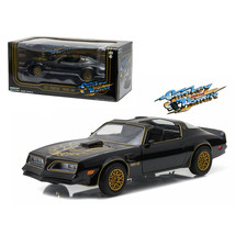 1977 Pontiac Trans Am Black Smokey and the Bandit (1977) Movie 1/24 Diec... - $43.58
