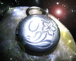 FREE W $99 ANTIQUE LOCKET  COME TO ME NOW CALL LOVE POWER SECRET OOAK MA... - $0.00