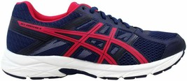 Asics Gel Contend 4 Indigo Blue/Pink-Black T765N 4920 Women's Size 9.5 - $49.21