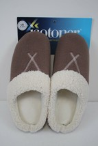 ISOTONER Womens Black Memory Foam House Shoes Slippers size LG 8.5-9 New - $18.80