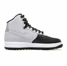 Nike Lunar Force Duckboot Air Force 1 High Wolf Grey Black BQ7930 002 Me... - $109.95