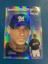 2003 Topps Heritage Chrome Manuel Ramirez #THC25 Rookie 170/554 Brewer R... - $19.99