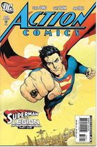 Action Comics Comic Book #858 Superman Dc Comics 2007 Near Mint New Unread - $4.99