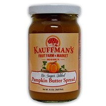 Kauffman's Homemade Pumpkin Butter, No Sugar Added, 8.5 Oz. Jar (Pack of... - $33.25