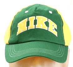 5d265c47cbe Nike Signature Green  amp  Yellow Adjustable Baseball Cap Child 4-7 One  Size.