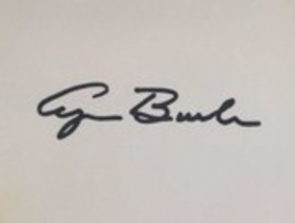 George H.W. Bush Autographed 3x5 Index Card - $49.99