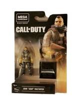 Mega Construx Call of Duty Black Series John Soap Mactavish Building Set... - $9.79