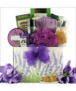 Lavender Spa Pleasures: Bath & Body Spa Gift Basket SALV-16 Great Arrivals - $73.49