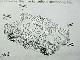 Rapido Trains Inc #102023 GSC 41-N-11 Inside Swinghanger Passenger Trucks (N) image 3