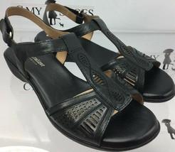 Naturalizer Women's Contour Black Strap Sandals Size 8.5 W  ( #1296 ) New !!! - $46.38