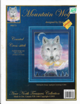 Counted Cross Stitch Pattern-Near North Treasures-MOUNTAIN WOLF-Dyan All... - $9.46