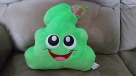 "Green Poop Emoji Brand New Plush NWT Stuffed Animal w/ Tags 11"" - $12.99"