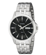 New Citizen Quartz Stainless Steel Bracelet Day & Date Men's Watch BF201... - £67.36 GBP