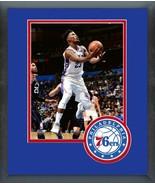 Jimmy Butler 2018-19 Philadelphia 76ers Action- 11x14 Logo Matted/Framed... - $43.55
