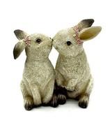 Adorable Kissing Rabbits! - $16.82