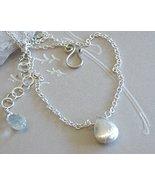 Tiny Solitaire Necklace Silver drop Camp Sundan... - $32.46