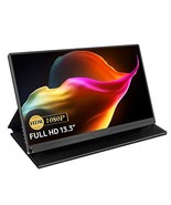 13.3 Inch Portable Monitor, UPERFECT 1080 FHD Ultra-thin External Monitor - $193.59