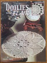 Doilies With Flair by Sarah J, Green Leisure Arts Book # 3215 - $9.00