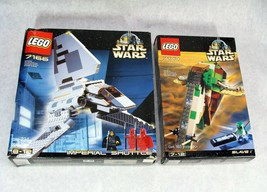 LEGO STAR WARS 7144, 7166 SET BOX'S ONLY - $14.84