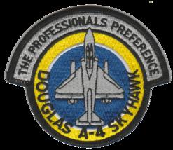 USMC A-4 Skyhawk Professionals Preference VT-7 Colors Patch - $11.87