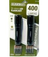 Guidesman TC-4AAA LED Flashlight 400 Lumens Pair of Tactical Flashlights! - $23.20
