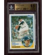 """1983 TOPPS #240 RICH """"GOOSE"""" GOSSAGE (HOF) CARD- BECKETT 9.5 (GEM MINT) - $24.70"""