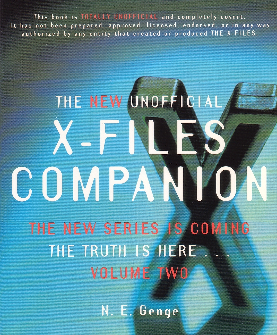 Books   x files companion vol2