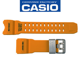 Genuine CASIO G-SHOCK  Mudmaster Watch Band Strap GWG-1000-1A9 Yellow Ru... - $114.95