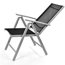 Set of 2 Patio Folding Beach Chair Adjustable Reclining Indoor Outdoor G... - $109.98