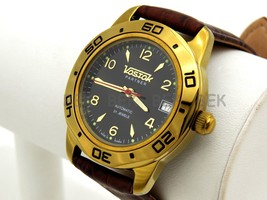 Man's Fashion VOSTOK PARTNER Russian military auto watch. 299240 - $51.00