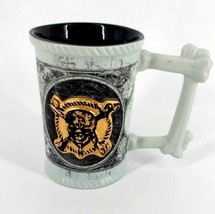 Disney Parks Coffee Mug Cup Dead Men Tell No Tales Pirates of the Caribbean  - $14.98