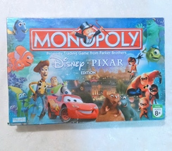Disney Pixar Edition Monopoly Board Game  - $14.00