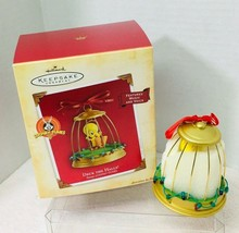 2004 Deck the Halls Tweety Magic Christmas Tree Ornament MIB Price Tag - $26.24