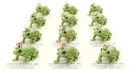 Hagen-Renaker Miniature Ceramic Frog Figurine Birthstone Prince 01 January image 4