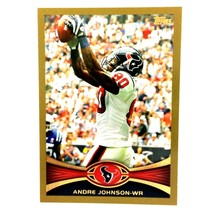 Andre Johnson 1999 Topps Gold Serial Numbered Parallel Card #20 Houston ... - $1.93