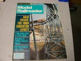 Model Railroader magazine June 1981 - $5.94