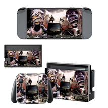 Iron Maiden decal for Nintendo switch console sticker skin - $15.00