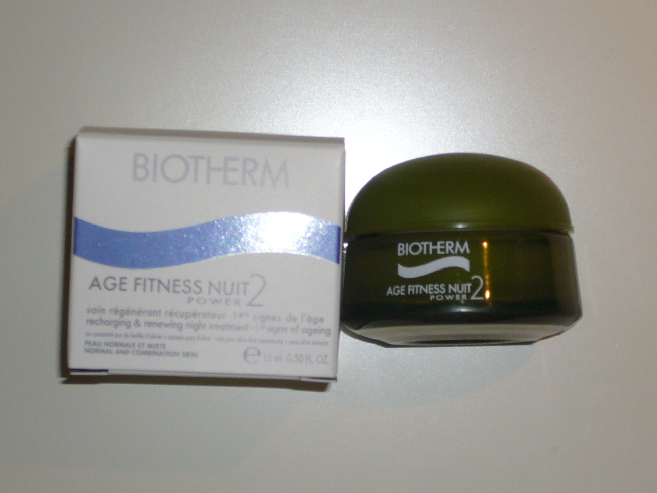 Biotherm Age Fitness Power 2 Nuit Night Cream Treatment 15 m